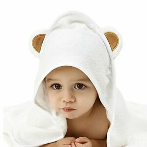 EFY White Baby Hooded Bath Robe or White Hooded Towel with a RUGBY Logo and Name of your choice. Hooded Towel 0-5 years