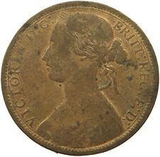 GREAT BRITAIN PENNY 1873 VICTORIA #rk 231