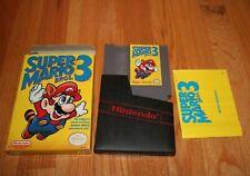 Super Mario Bros 2 & 3 - Nintendo Complete Box Manual cart CIB Both NES classics