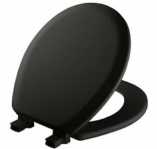 Mayfair Molded Wood Toilet Seat with Easy Clean Change Hinges and Sta-Tite Seat