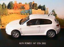 ALFA ROMEO 147 GTA 2002 WHITE EDISON EG 1/43 ITALIA BLANCHE BIANCA BLANC WEISS