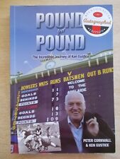Pound For Pound~Peter Cornwall & Ken Eustice~SANFL~Signed Biography~The Bloods
