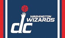 Washington Wizards Nba Flag Banner 3' X 5' Huge Polyester Metal Grommets