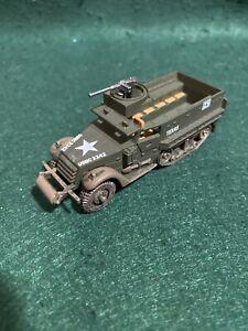Corgi 1/72 20mm WW2 US M3 Halftrack Diecast Metal Wargaming-FREE POSTAGE