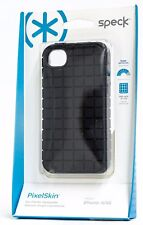 SPECK PIXEL SKIN RUBBERIZED CASE iPHONE 4/4S  BLACK