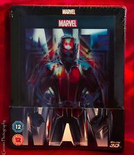Marvel Ant-Man 3D+2D Blu-ray Steelbook™ + Lenticular Magnet Zavvi Exclusive