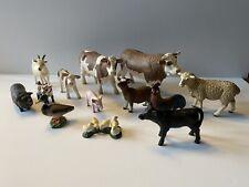 More details for job lot bundle schleich farm animals cows pigs goats