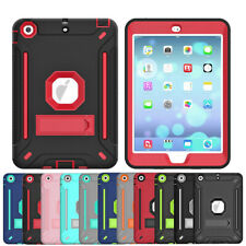 For Apple iPad Mini 1 2 3 4 5 Stand Impact Shockproof Heavy Duty Hard Case Cover