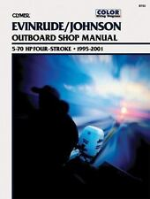 1995 2001 Evinrude Johnson 5-70 HP 4-Stroke Outboard Clymer Repair Manual B753