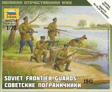 Zvezda 1/72 WWII Soviet Frontier Guards 1941