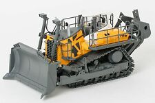 WSI 64-2000 Liebherr PR 776 Litronic Tracked Dozer with Ripper Yellow 1:50