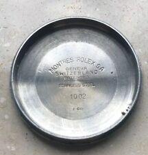 Montres Rolex perpetual Case Back 1002 - engraved  graviert (R311)