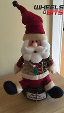 "Moving Sing Dancing Santa Claus 14.5"" inch singing Merry Christmas Soft Body 310"