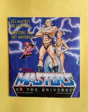 Masters of the universe - sticker album - Panini - FULL - Belgium edition - 1983