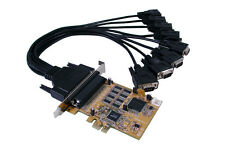 EXSYS ex-44088 - PCI-Express Mapa 8x Serial rs-232, systembase CHIPS