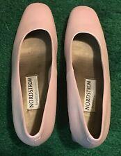 Vtg light Pink Nordstroms heels elegant size 7.5 Aa extra narrow Pumps shoes Ec