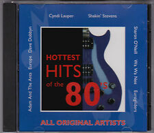 Hottest Hits Of The 80's - CD (Sony Special Products Sampler SMSP193CD)