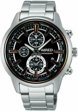 WIRED Men's Chronograph Watch AF8T29X By SEIKO
