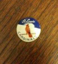St Louis Cardinals Baseball Crane Potato Chip Pin Pinback-Very Good Condition