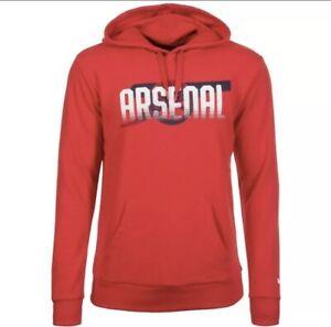 Puma Arsenal London AFC Gunners Hoody Hoodie Sweatshirt Pullover Herren L  00864