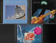 DIRE STRAITS 3 EXCELLENT CDS BROTHERS IN ARMS MONEY FOR NOTHING ON EVERY STREET