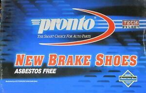 BRAND NEW PRONTO REAR BRAKE SHOES S657 / 657 FITS VEHICLES LISTED ON CHART