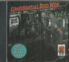 CONFIDENTIAL DOO WOP - CD - Vol. 4 - The Joy Of Five -  BRAND NEW