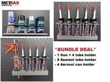 Van Storage Bundle 4 Aerosol Can, 5 Mastic tube & 1 gun 4 tube holder - DEAL