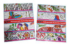 Adults Color by Number Dot to Dot Spot the Difference Coloring Books Book 2 Pack
