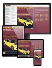 2013 Chevrolet Camaro Haynes Online Repair Manual-14 Day Access
