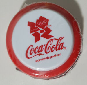 COCA COLA COKE YOYO OLYMPICS RED LONDON 2012 SEALED IN PLASTIC! PROMOTIONAL!