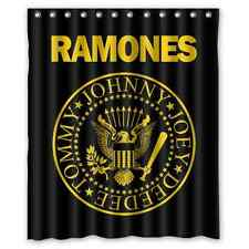 New Ramones Rock Band Custom Fabric Shower Curtain 60x72 Inch