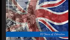 Guernsey 2015  70JR BEVRIJDING LIBERATION  WWII PRESTIGE BOOKLET POSTFRIS/MNH