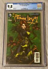 Detective Comics #23.1 CGC 9.8 Poison Ivy White Pages D.C. Comics 3D Lenticular!