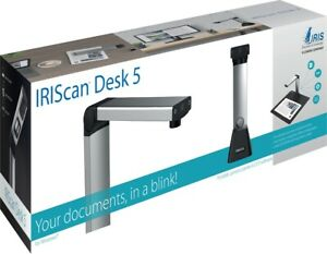 IRIScan Desk 5 desktop camera scanner