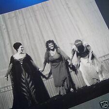 NILSSON, DUNN, MARTON Candid Curtain Call VINTAGE PHOTO Metropolitan Opera House