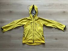 HAGLOFS Windstopper Outdoor Gore Jacket Polyester Yellow Hooded Size- Large (L)