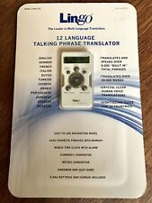 Lingo Navigator Talking Translator Model # Nav-12C 336475 12 Languages