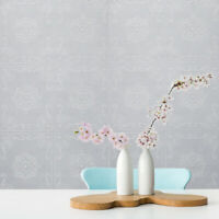 Wallpaper Textured Anaglypta White Paintable glitter embossed 3D wall & ceiling