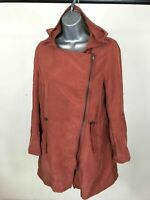 BNWT Women's H&M Divided Terracotta Red Brown Lightweight Jacket Size UK8 £29.99