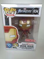 Marvel Avengers Gamerverse Iron Man Only At Target Funko Pop #634