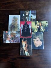 Star Wars Original official Lucasfilm 1997 7 Piece Lot Of Cool Fridge Magnets