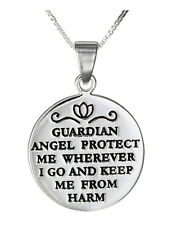 Guardian Angel Protect Me From Harm Necklace Graduation Gift Going Away Army