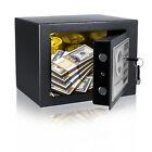 Safety Lock Box Strongbox Home Jewelry Waterproof Security Money Safe Storage ##
