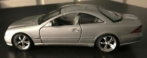Welly Silver Mercedes Benz CL600 1:24 Scale Item #2073