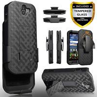 For Kyocera DuraForce Pro 2 Phone Case, Holster Belt Clip Cover+Glass Screen+Pen