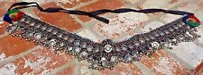 KUCHI AFGHAN TRIBAL BELLY DANCE GYPSY BOHO VINTAGE BELT COSTUME FREE SHIPPING