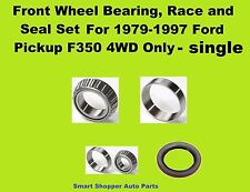 1979-1997 Ford F350 4WD Front Wheel Bearing, Race, and Seal Set