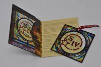 2019 Maker's Mark Ambassador Gift SIV Ornament Coaster Makers Mark NEW