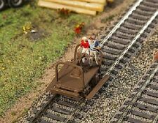 NEW HO scale Faller HANDCAR / TRACK WORKER GANG CAR  : Model Detail KIT 180926